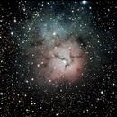 M20 - Trifid Nebula,                                pete4www