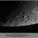 Moon, South Pole, ZWO ASI290MM, 20210217,                                Geert Vandenbulcke