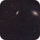 M81 & M82 Bode's galaxies NEW data / Canon 600D + SW 80ED PRO / SW EQ M-35 / SIRIL 0.9.12,                                patrick cartou