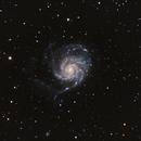 M101 Pinwheel Galaxy,                                Robert Browning