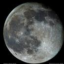 The Moon in color,                                Dominique Callant