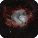 M8 Nebulosa de la Laguna,                                Astroneck