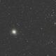 M2, Globular cluster in Aquarius,                                petelaa