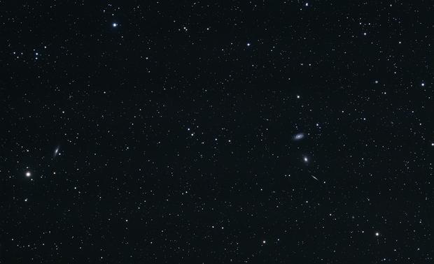 Daniele, look!  A galaxy group in Draco!,                                Luigi Fontana