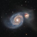 M51, NGC5194, NGC5195, IC4278, IC4277,                                Manuele Costantinis