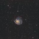 M101 HaLRGB,                                Daniel Hightower