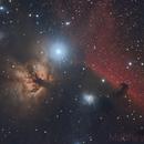 Double Night Flaming Horsehead,                                Matt Jenkins