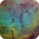 IC1396 in Hubble Pallet,                                Andrew Burwell