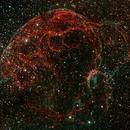 Sh2-240 Spaghetti Nebula HOO,                                llolson1
