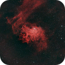 IC 405 - The Flaming Star Nebula,                                fourier2000