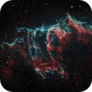 A Study of the Cygnus Loop - Part 2 of 4 - NGC 6995 - The Bat in the Eastern Veil,                                Timothy Martin & Nic Patridge