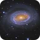 NGC 4725 & NGC 4747 | The One Arm Galaxy,                                Kevin Morefield