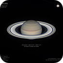The bright rings of Saturn at opposition,                                Lucas Magalhães