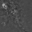 Milky Way/Cygnus 18 Panel H-Alpha Mosaic,                                Jim Matzger