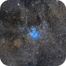 Dust and Stars - M45 (Pleiades),                                Frank