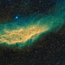 California Nebula - NGC1499 - SHO version,                                Mike Brady
