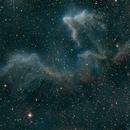 Cas Nebula in Ha & Sii,                                Seymore Stars