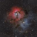 Trifid Nebula M20,                                Stan Smith