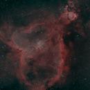 IC1805 (Heart Nebula) in HOO,                                JDJ
