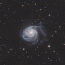 Pinwheel Galaxy M101,                                YuSheng