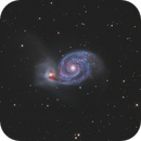 M51 LRGB +Ha,                                Christopher Gomez