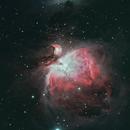 M42 Orion Nebula,                                Francesco