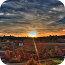 Sunset over Dongel / Kocaeli / Turkey,                                Ahmet Kale