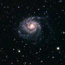 M101 - The Pinwheel Galaxy,                                Stuart Stakoff