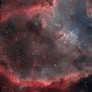 IC1805 Heart Nebula HOO,                                nicolabugin