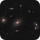 The Eyes are looking at M86 and M84,                                Kurt Zeppetello