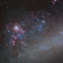NGC 2070 and around in LRGB,                                Alberto Pisabarro
