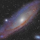 M31 reprocessed,                                Brian Meyerberg