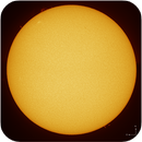 Sun in H-alpha, ZWO ASI290MM, 20190519,                                Geert Vandenbulcke