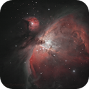 M42 -  35 minutes cloud gaps,                                Peter Schmitz