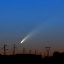 Twilight sky and Neowise,                                J_Pelaez_aab