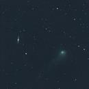 Comet 2017-T2 passes NGC4026,                                Eddie Pons