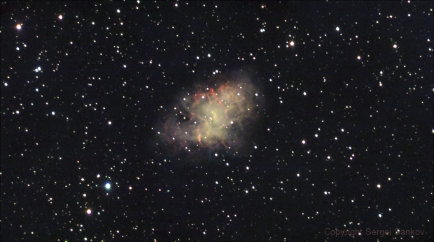 M1. The Crab Nebula.,                                Sergei Sankov