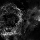 NGC3324-3372 Gabriela Mistral and Northwest Eta Carina Nebulae in Starless SII,                                John Ebersole