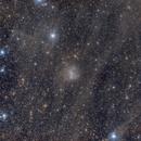 Barnard's Galaxie behind the Integrated Flux Nebula (IFN),                                Martin Mutti