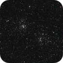 Perseus Double Cluster. NGC 884/869. 1st try at DSO,                                umbarak