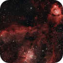 Heart Nebula with RASA 8 and Optolong-L-Enhance,                                Roman