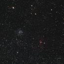 M52, Bubble Nebula, NGC7538,                                Jeff Seivert