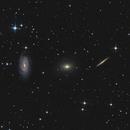 Draco Triplet (NGC 5985, NGC5982, NGC5981),                                John Pungello