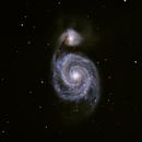 M51 Whirlpool Galaxy,                                Mat