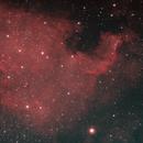NGC7000 - The North America Nebula,                                Steven Rundle