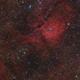 Sh2-86 and area around NGC6823 in Vulpecula (Ha+RGB),                                Graeme Coates