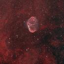 Crescent Nebula (NGC 6888) HOO,                                Jason Doyle Sr