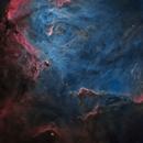 IC 2944-Running Chicken Nebula,                                Zhuoqun Wu