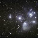 M45 die Plejaden,                                Peter Schmitz