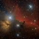 IC 434 - Pferdekopfnebel und Flammennebel,                                Stefan Benz